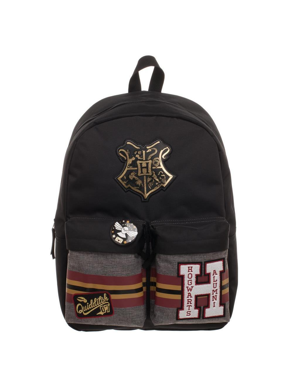 HARRY POTTER - Patches Backpack with Pin Badge