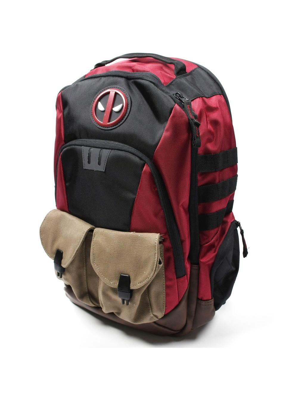 DEADPOOL - Built Up Combat Ready Backpack