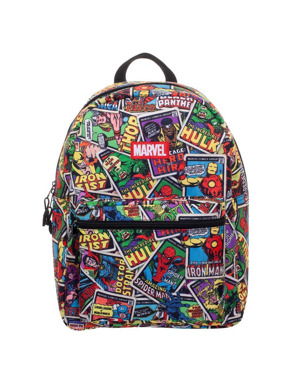 MARVEL - Hero Card All Over Print Backpack
