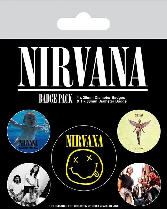 NIRVANA - Pack 5 Badges - Iconic_1