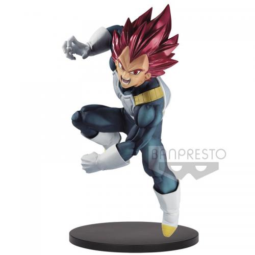 DRAGON BALL SUPER - SSG Vegeta SP7 - Figurine Blood of Saiyans 15cm