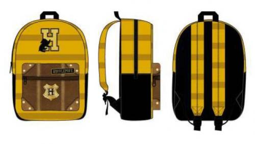 HARRY POTTER - Hufflepuff Stripe - Sac à dos