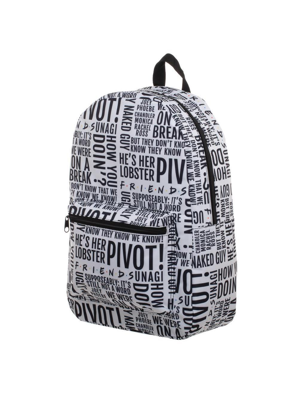 FRIENDS - Quotes Quickturn Backpack