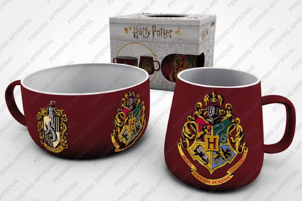 HARRY POTTER - Set Petit-Déjeuner - Crests