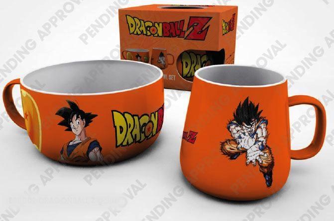 DRAGON BALL - Set Petit-Déjeuner - Goku
