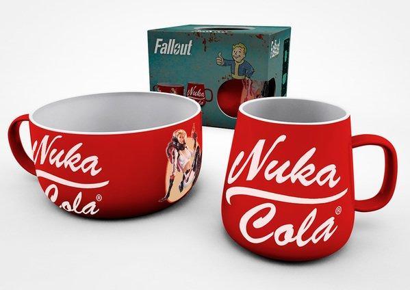 FALLOUT - Set Petit-Déjeuner - Nuka Cola