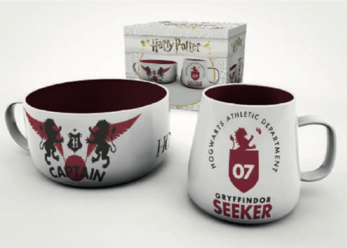HARRY POTTER - Set Petit-Déjeuner - Quidditch