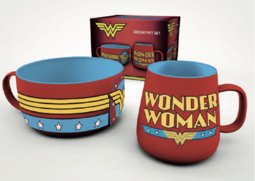 DC COMICS - Set Petit-Déjeuner - Wonder Woman