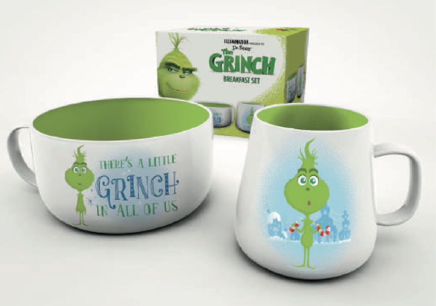 THE GRINCH - Set Petit-Déjeuner - Grinch in Training
