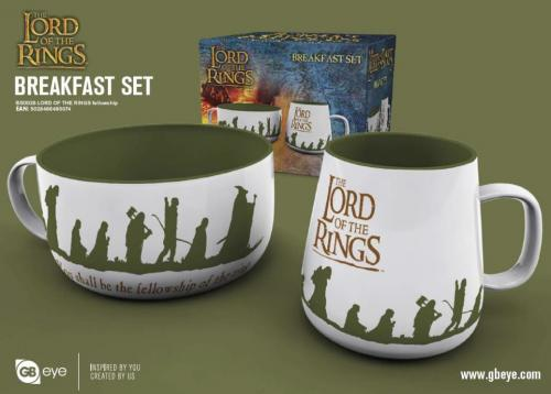 LORD OF THE RINGS - Set Petit-Déjeuner - Bol & mug - Camaraderie