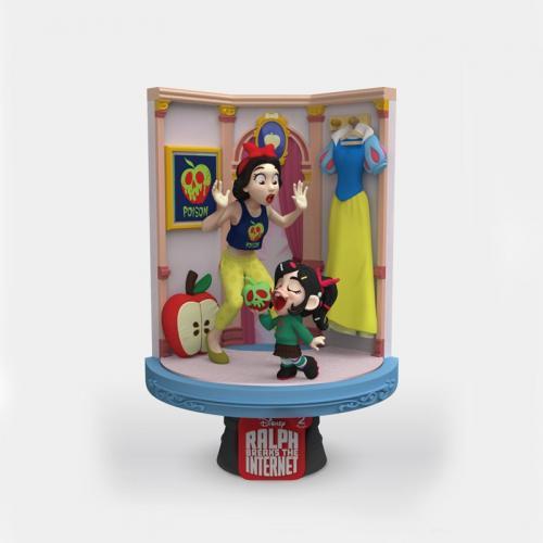 RALPH 2.0 - Snow White & Vanellope - D-Stage 15cm