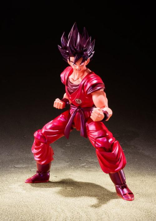 DRAGON BALL Z - Son Goku Kaioken - Figurine SH Figuarts 14cm