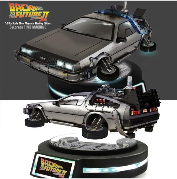 BACK TO THE FUTURE - Delorean II Magnetic Floating Edition - Reprod_1