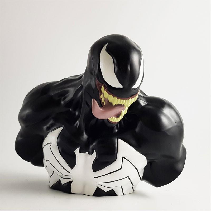 MARVEL - Tirelire Boite Blister - Venom Bust 22 cm