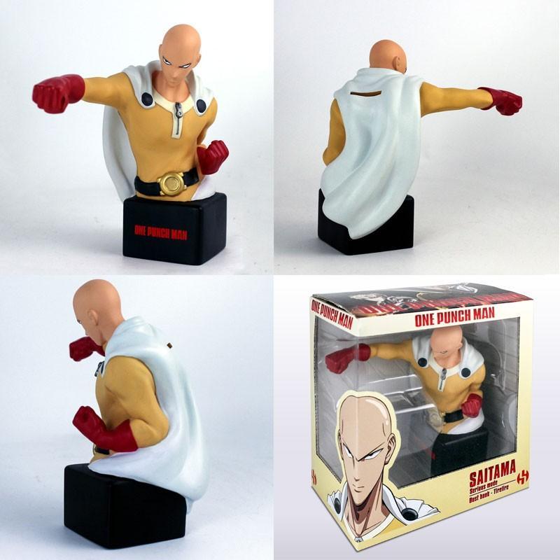 ONE PUNCH MAN - Tirelire - Saitama buste - Version Sérieuse 20 cm
