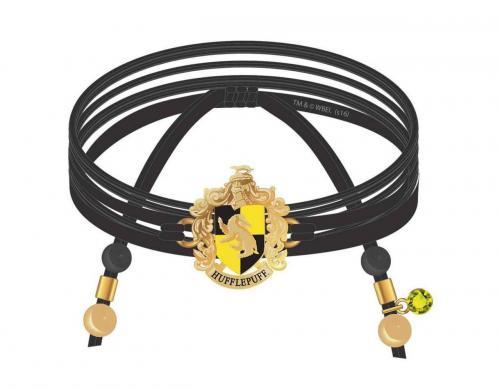 HARRY POTTER - Poufsouffle - Bracelet en daim