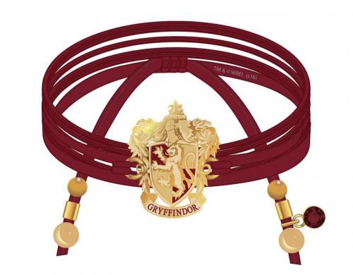 HARRY POTTER - Griffondor - Bracelet en daim