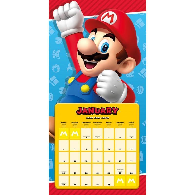 NINTENDO - Super Mario Calendar 2020_2