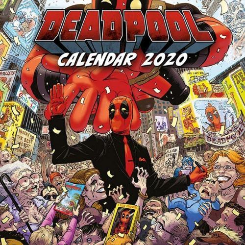 DEADPOOL - Calendar 2020