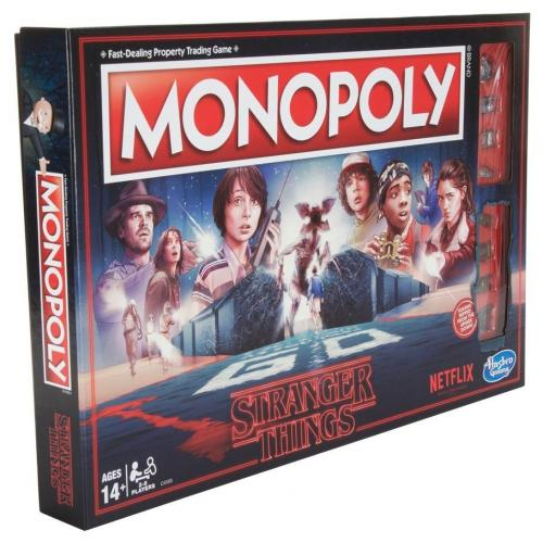 STRANGER THINGS - Monopoly - Standard Edition (UK Only)