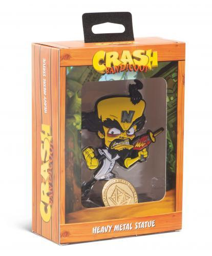 CRASH BANDICOOT - Heavy Metal Statue - Dr.Neo - 13cm