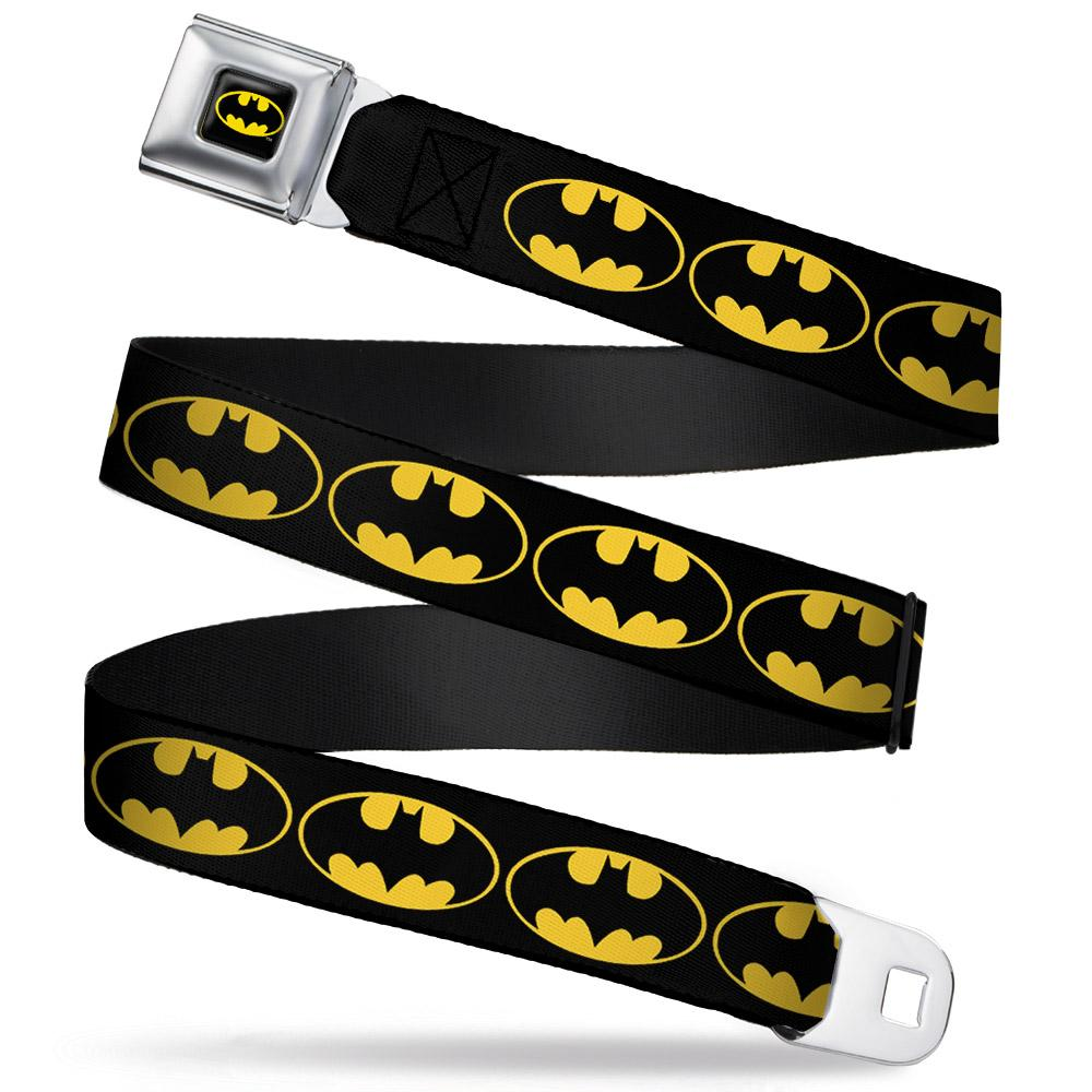 BATMAN - Ceinture (Kids)- 31/66 - 2,5 Cm - Black/Logo