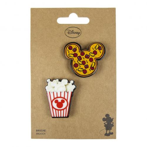 DISNEY - Mickey Food - Broches