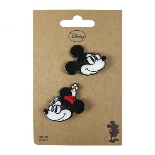 DISNEY - Mickey & Minnie - Broches
