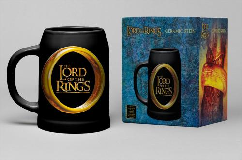 LORD OF THE RINGS - Chope Céramique 600ml - One Ring