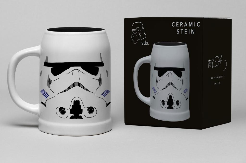 STAR WARS - Chope Céramique 600ml - Stormtrooper Helmet