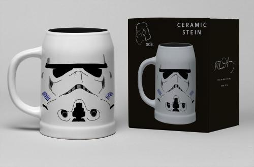 STAR WARS - Chope Céramique 600ml - Stormtrooper Helmet