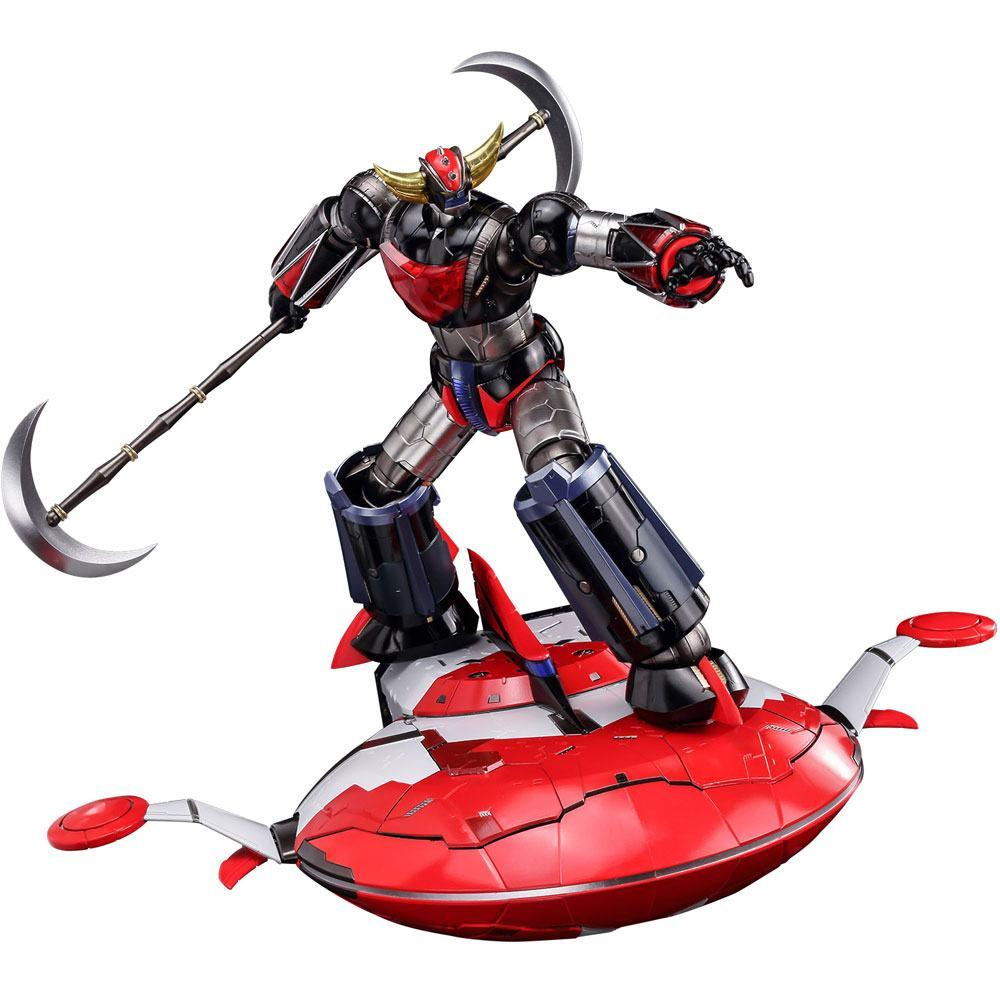 GRENDIZER - Riobot Diecast Figure - SET Grendizer + Spacer - 17cm