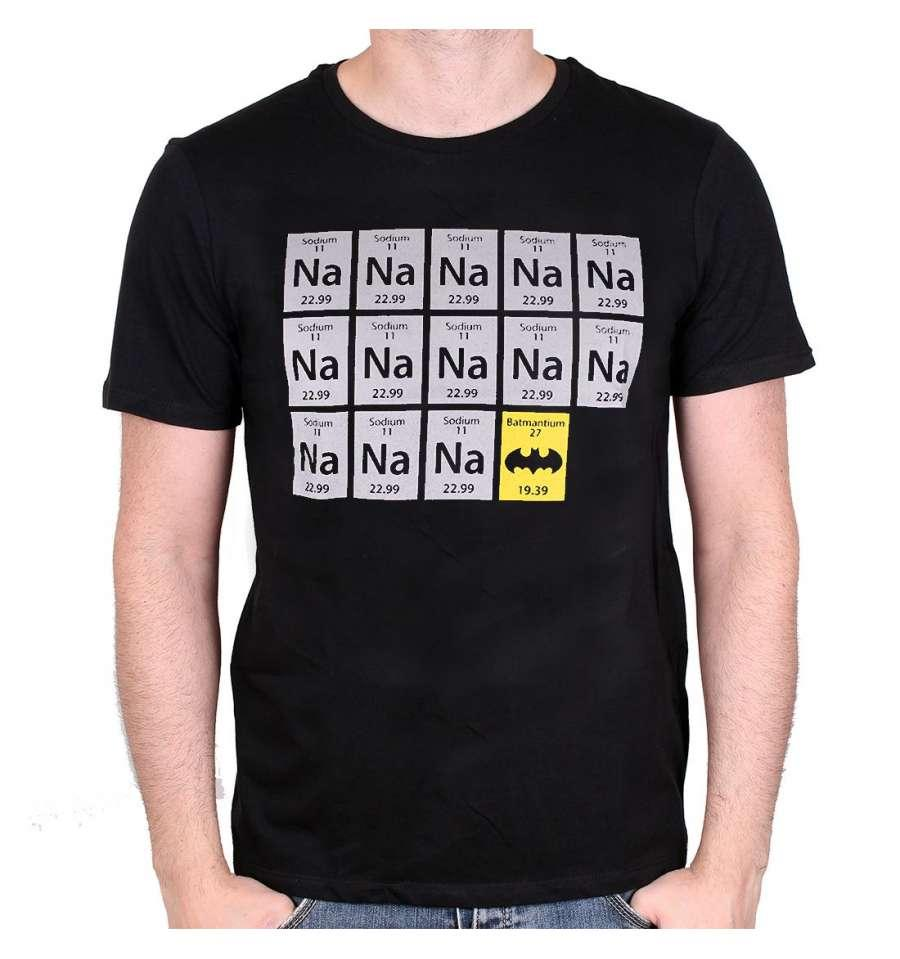 BATMAN - T-Shirt CHIMIE BAT BLACK (XL)_1