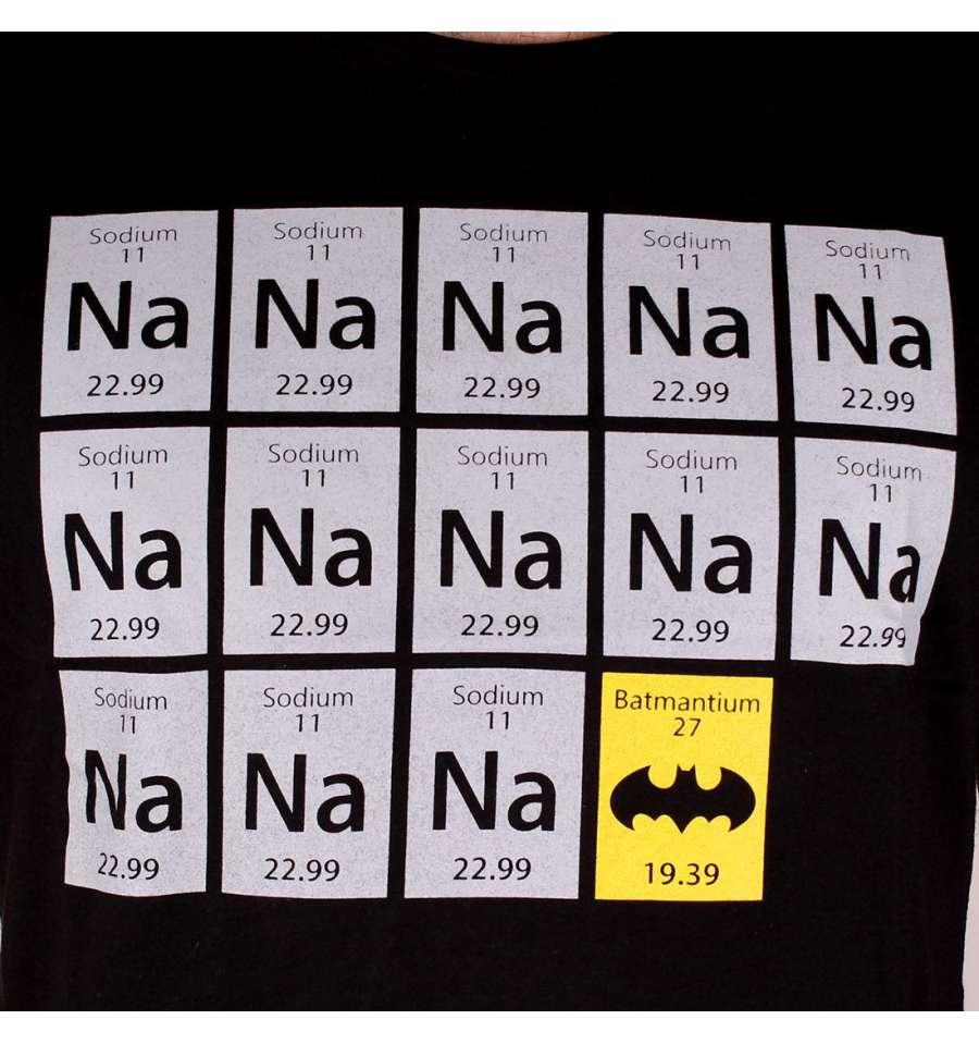 BATMAN - T-Shirt CHIMIE BAT BLACK (XL)_2