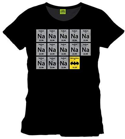 BATMAN - T-Shirt CHIMIE BAT BLACK (XL)_5