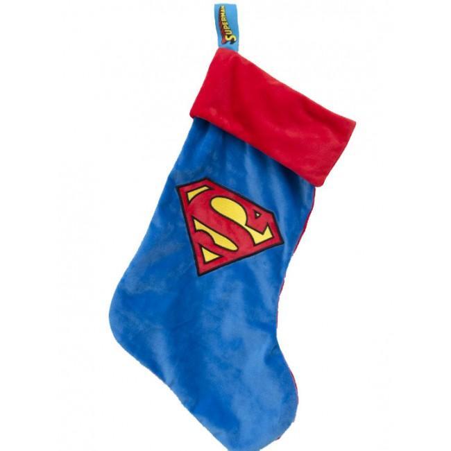 DC COMICS - Chaussette de Noel 47x30cm - Superman
