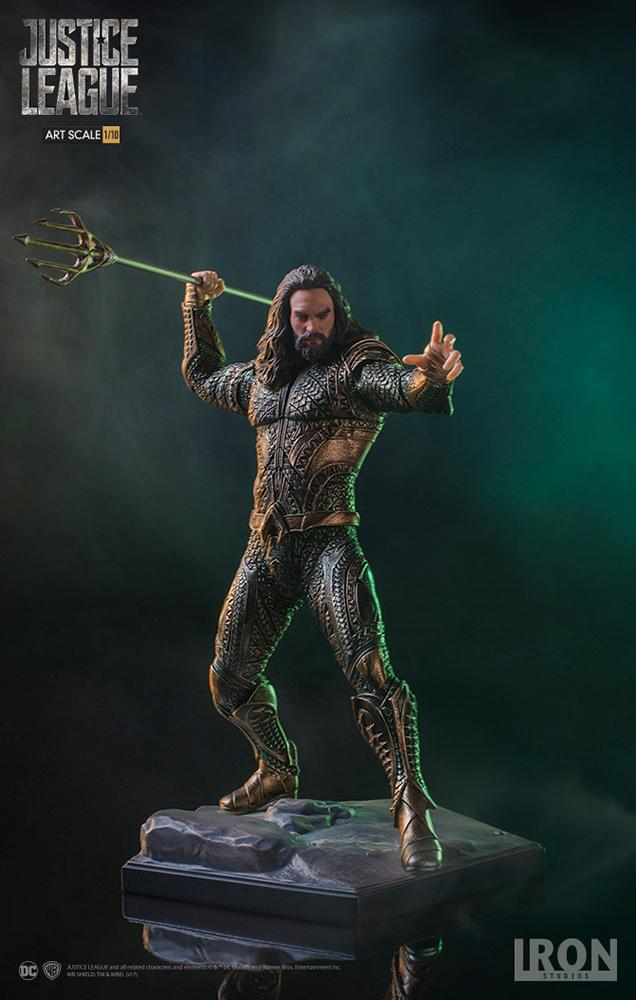 DC COMICS Justice League Movie - Aquaman - 1/10 Art Statue - 22cm