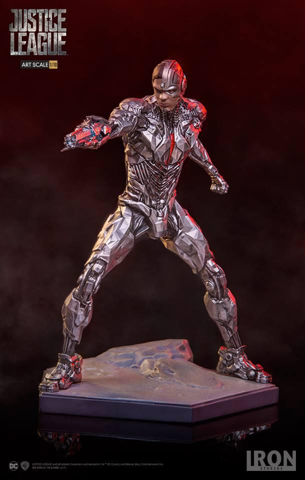 DC COMICS Justice League Movie - Cyborg - 1/10 Art Statue - 19cm