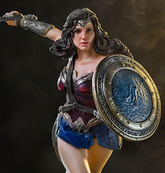 DC COMICS Justice League Movie - Wonder Woman - 1/10 Art Statue - 18cm