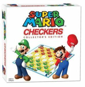 NINTENDO - Jeu de Dames Super Mario 'UK Only'