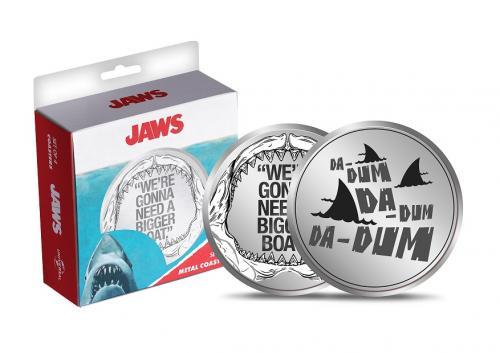 JAWS - Set de 4 dessous de verres en métal