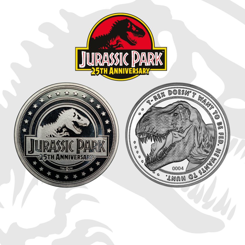 JURASSIC PARK - T-Rex - Pièce de collection édition limitée_1