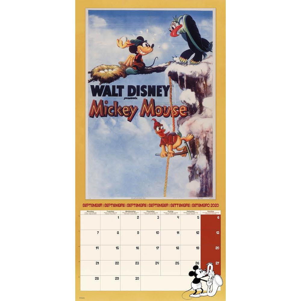 DISNEY Mickey Mouse - Calendrier 2020 - 30x30_3