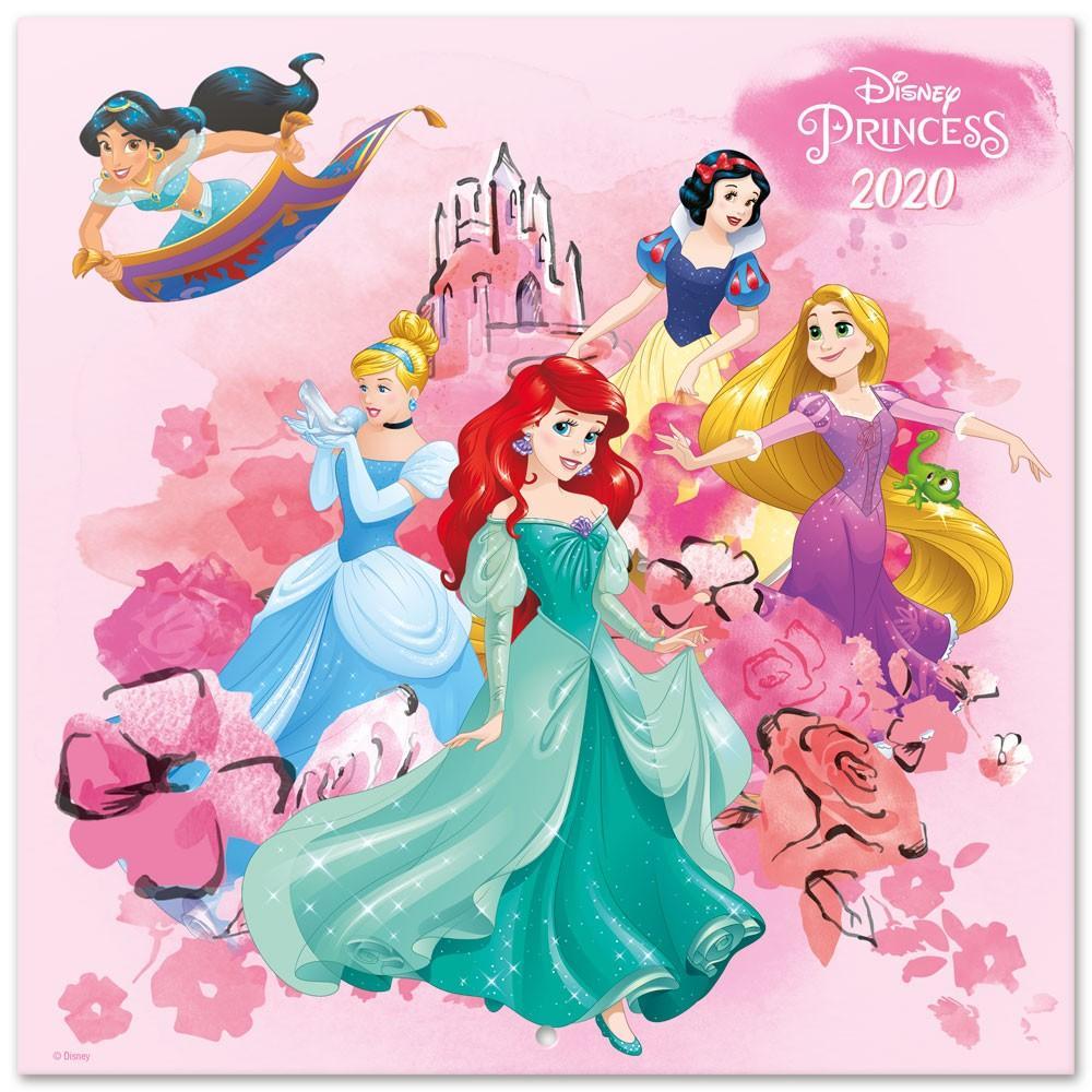 DISNEY Princess Classic - Calendrier 2020 - 30x30
