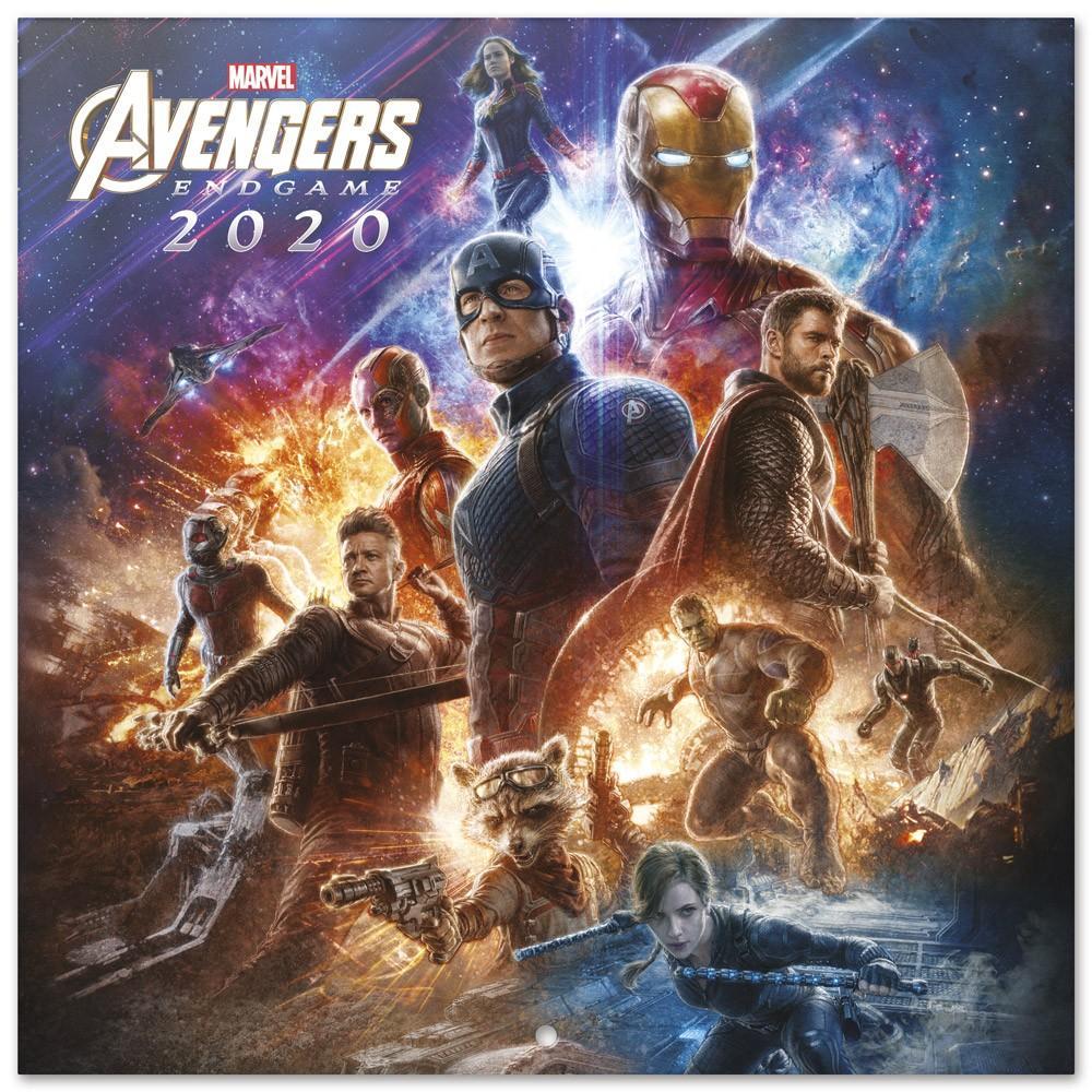 MARVEL AVENGERS - Calendrier 2020 - 30x30_1