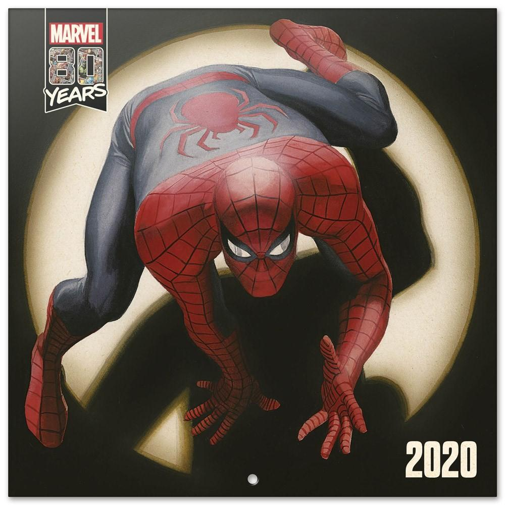 MARVEL COMICS 80 Years - Calendrier 2020 - 30x30_1