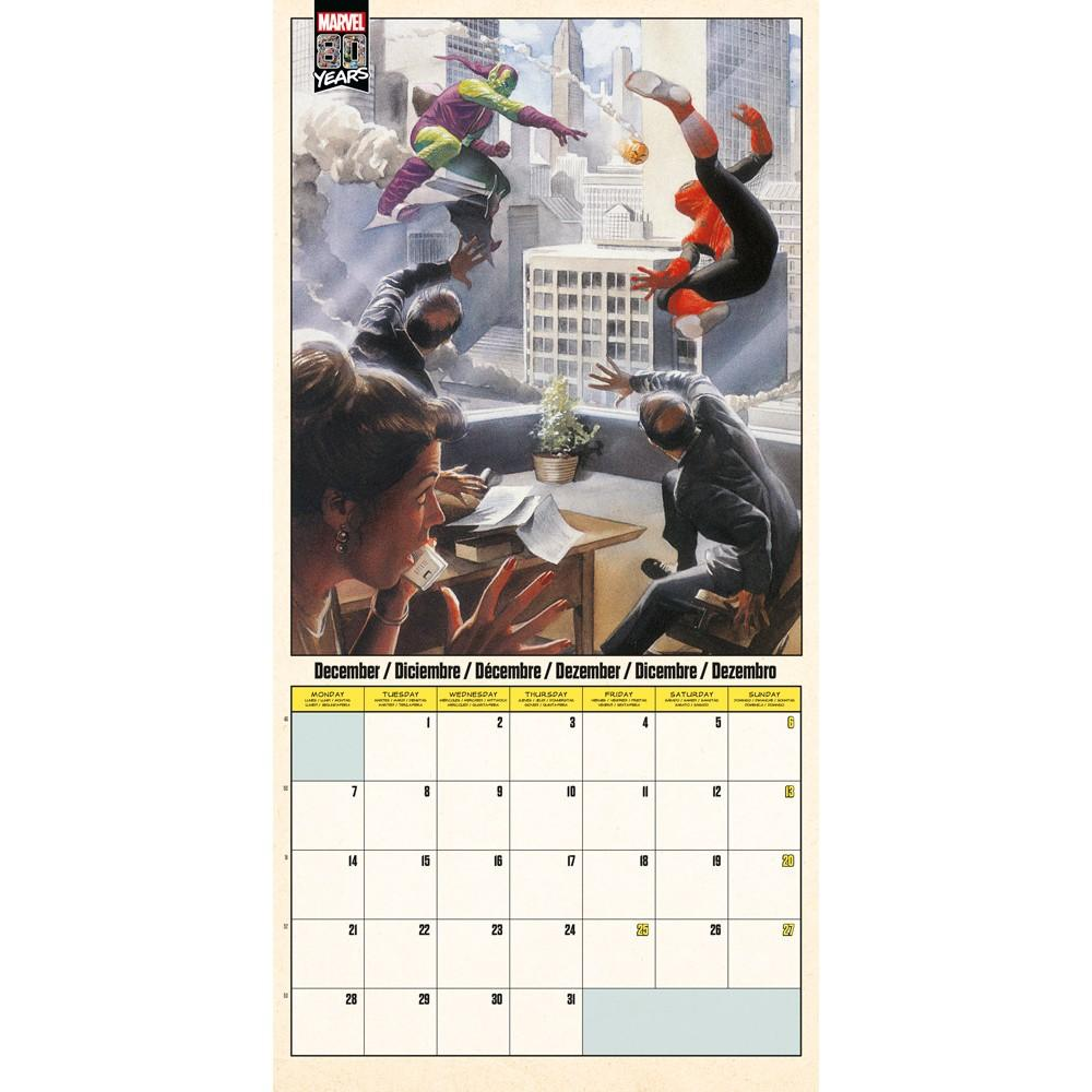 MARVEL COMICS 80 Years - Calendrier 2020 - 30x30_3