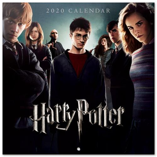 HARRY POTTER - Calendrier 2020 - 30x30