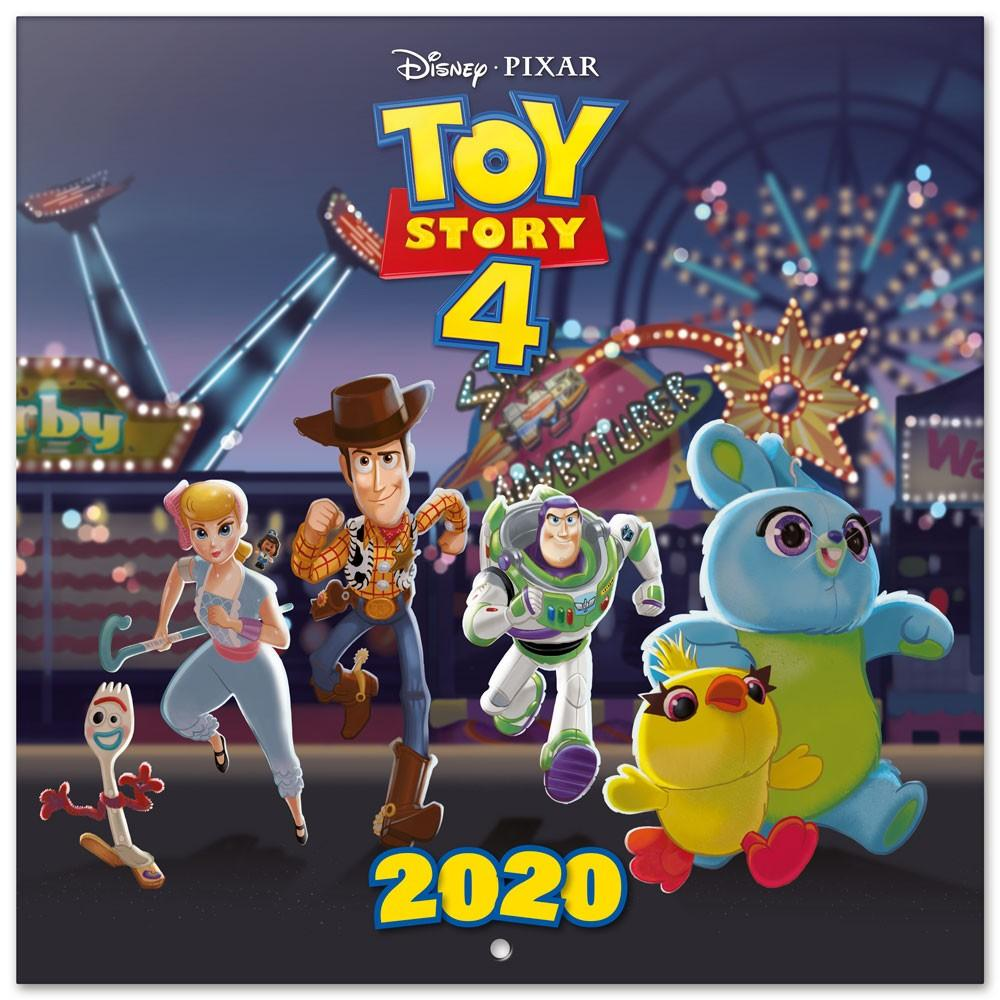 TOY STORY 4 - Calendrier 2020 - 30x30_1