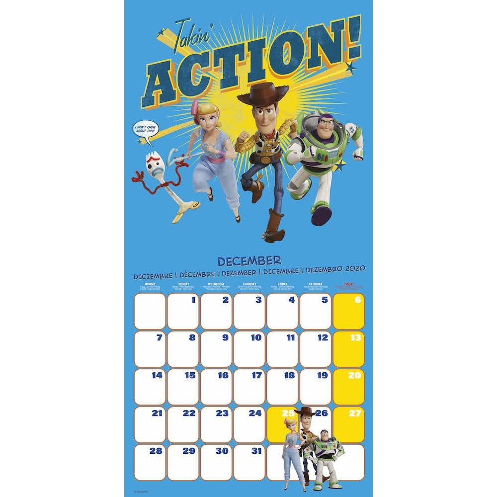 TOY STORY 4 - Calendrier 2020 - 30x30_3